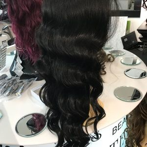Accessories - Black wig for sale chicago Long 13x6 Freepart 2019